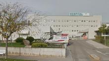El Hospital Comarcal de Vinaròs en una vista de Google Earth.