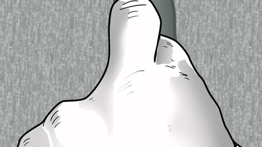Imagen 6. Cerrojo de dedos.
