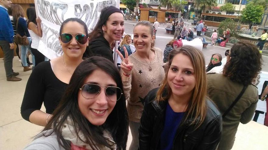 Miembros de la asociación Mujeres Estibadoras de Algeciras.