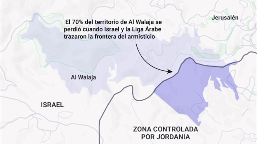 Mapa Al Walaja