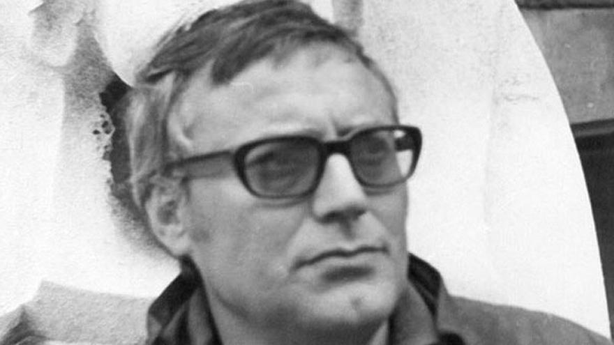El poeta grancanario Manuel Padorno