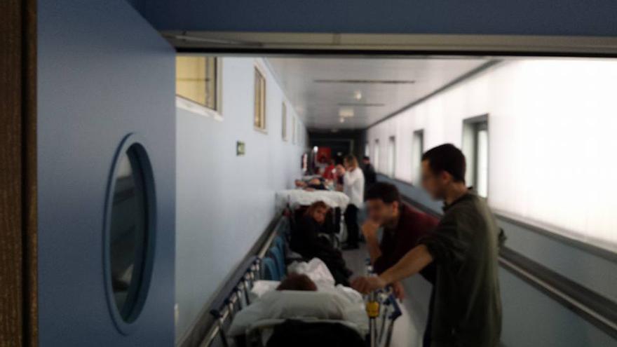 Los sindicatos denuncian el colapso de las urgencias sanitarias.   Luis A. García Gómez