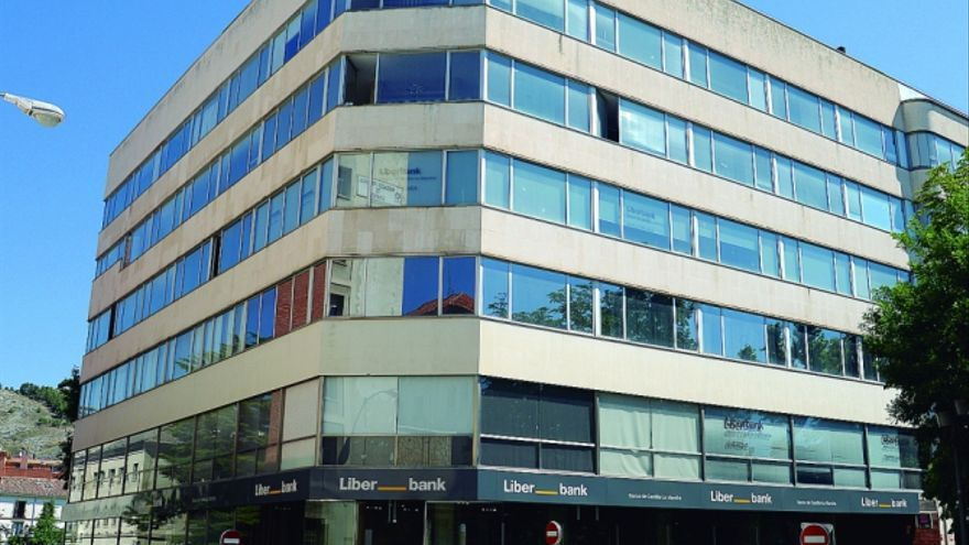 Oficinas de Liberbank en Cuenca