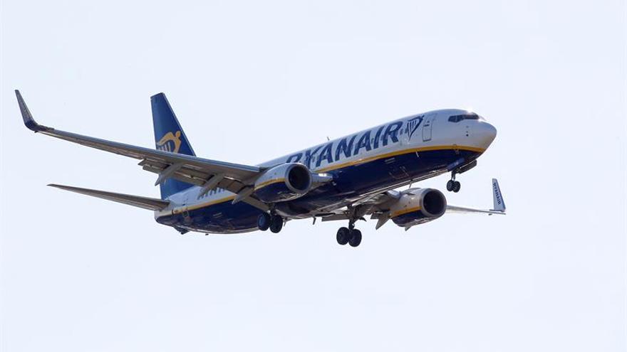 El tráfico de pasajeros de Ryanair aumentó el 13 por ciento en junio
