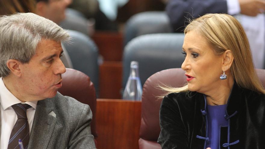 """Garrido recuerda en su discurso de investidura a Cifuentes: """"Una profesional entregada al servicio público"""""""