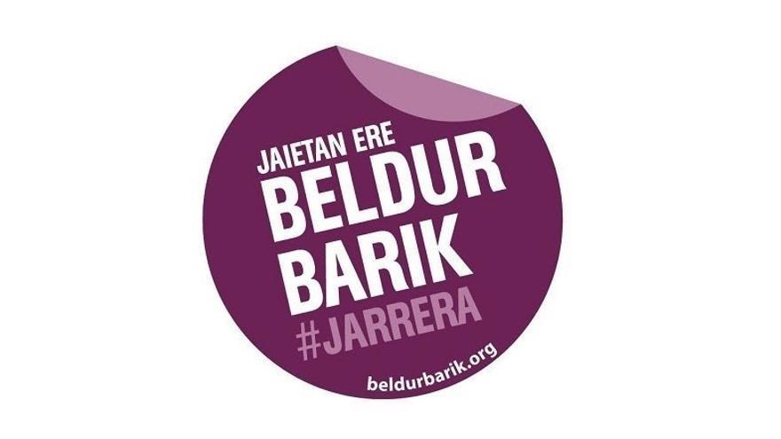 Diputación de Bizkaia apoya la campaña del programa 'Beldur Barik' contra las agresiones sexistas en fiestas