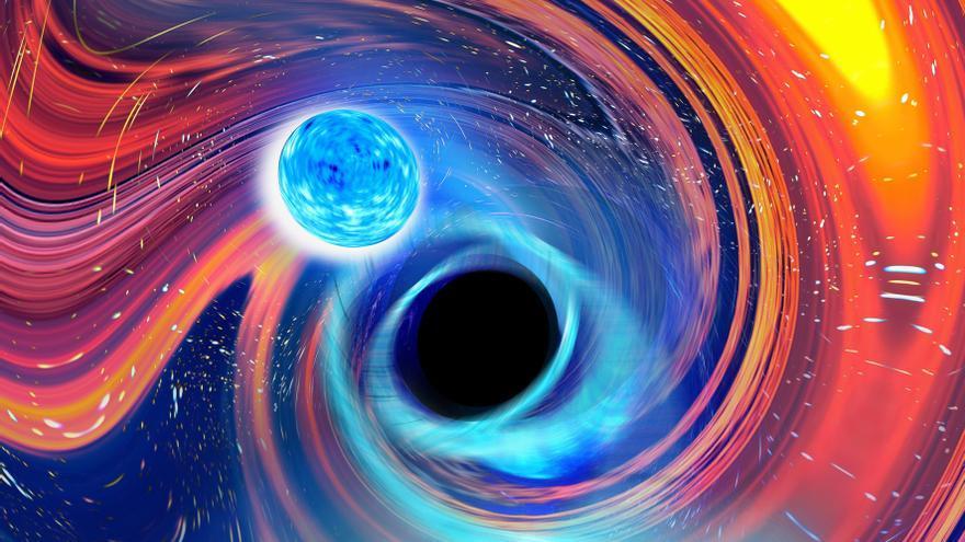 Detectan las primeras fusiones de agujeros negros con estrellas de neutrones