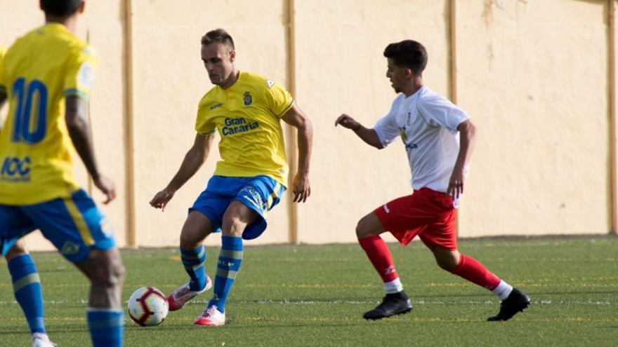 Partido entre la UD Las Palmas y la Selección del Sur