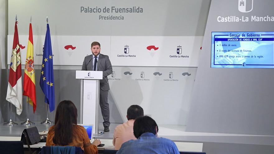 Rueda de prensa de Nacho Hernando