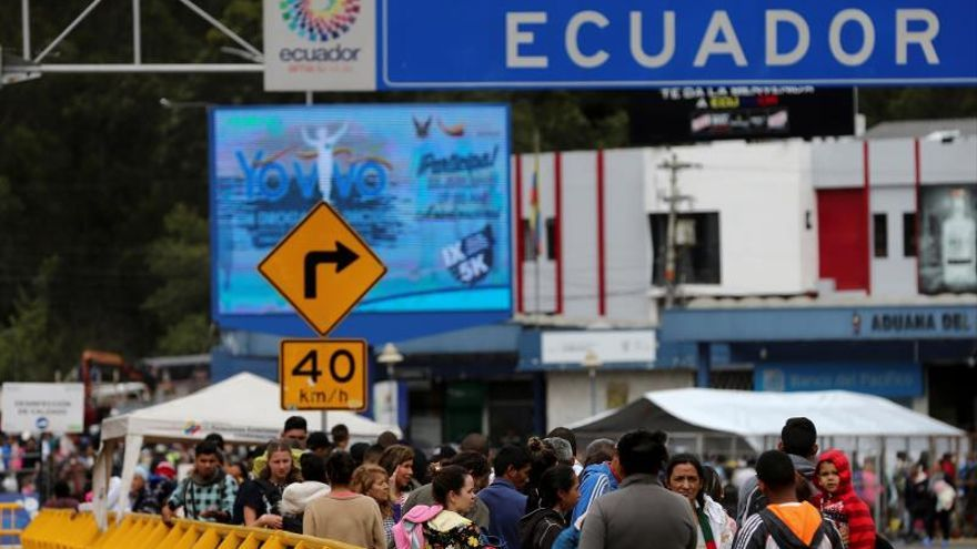 Advierten de un incremento de venezolanos en el paso fronterizo hacia Ecuador