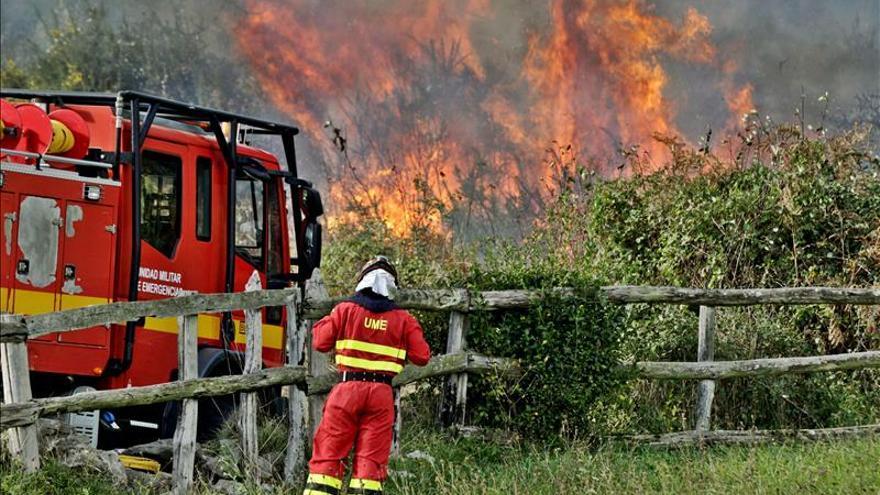 """""""Hazte un cortafuegos"""" en la barba o ceja en defensa de los bomberos forestales"""