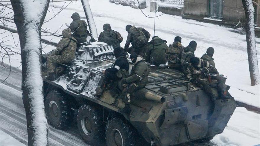 Renuncia el líder prorruso de la república popular de Lugansk