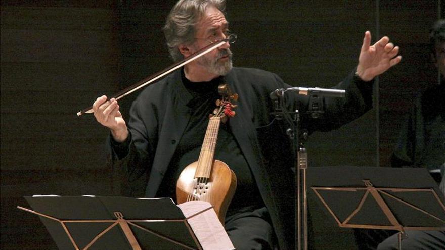 Savall celebra 40 años de Hespèrion XXI con un programa marcadamente barroco