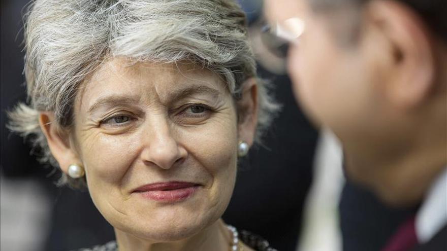 """Bokova admite el """"difícil momento"""" que atraviesa la UNESCO"""