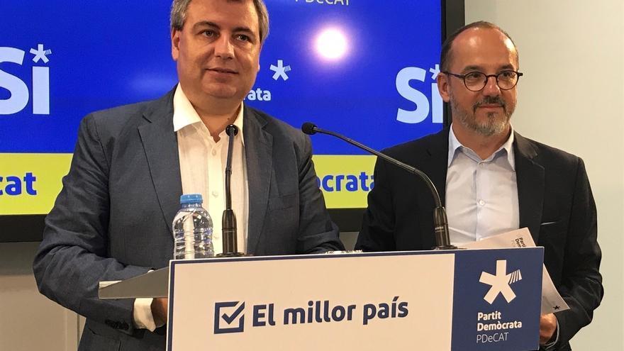 El PDeCAT prevé un informe de la Comisión de Venecia sobre referéndums tras el de Cataluña