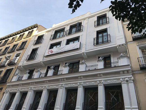 Promoción de viviendas de Fernando VI 3, el edificio de los pingüinos   Somos Chueca