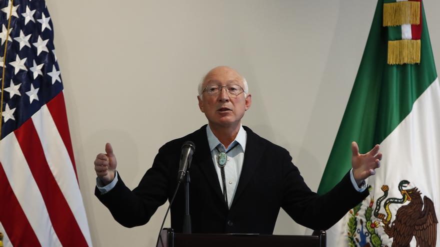 Tema migratorio debe trabajarse entre México y EE.UU, dice embajador Salazar