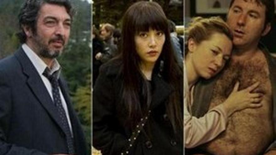 Fotogramas de las películas seleccionadas.