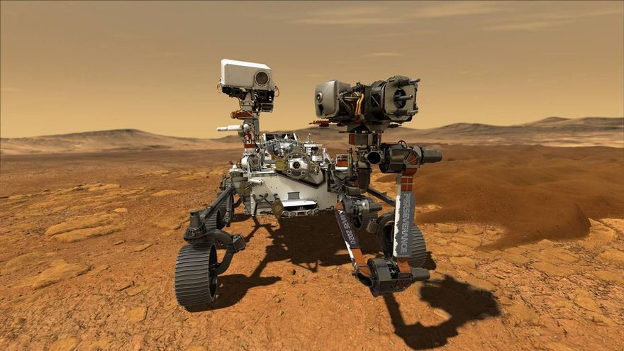 El viaje del rover Perseverance: 480 millones de kilómetros de vuelo espacial a Marte para llegar a Timanfaya