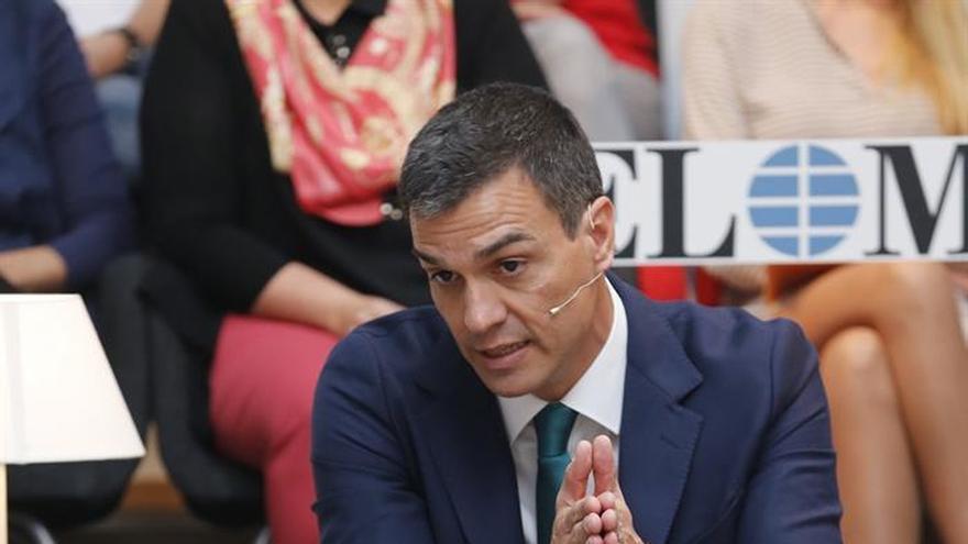 Sánchez cree que Ciudadanos debe promover una moción de censura en Murcia