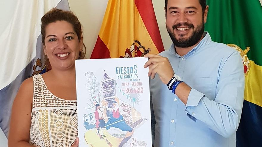 Miriam Fernández Martín y Jacob Qadri.