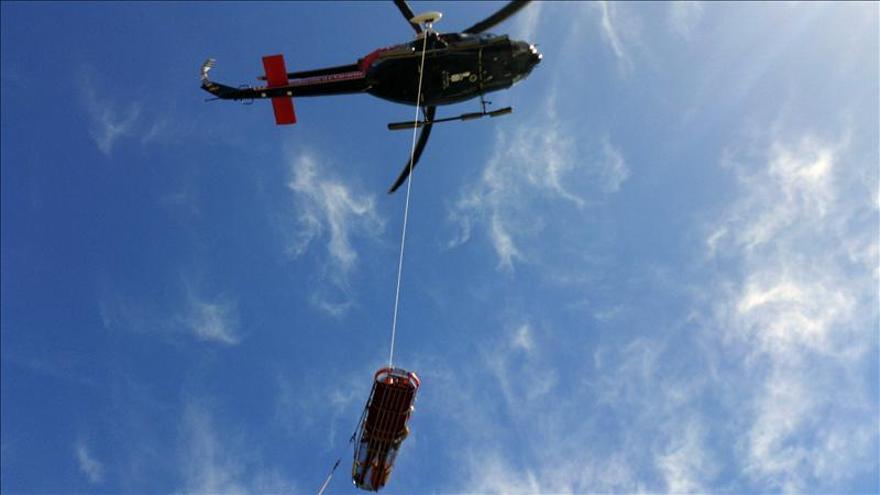 Rescatan el cadáver de un hombre que cayó al mar cuando pescaba en Peñíscola