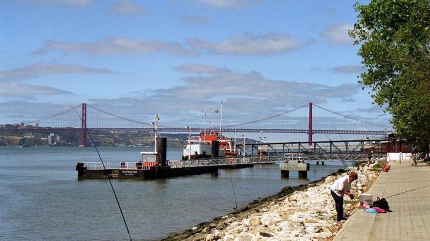 Imagen de archivo del río Tajo en Portugal