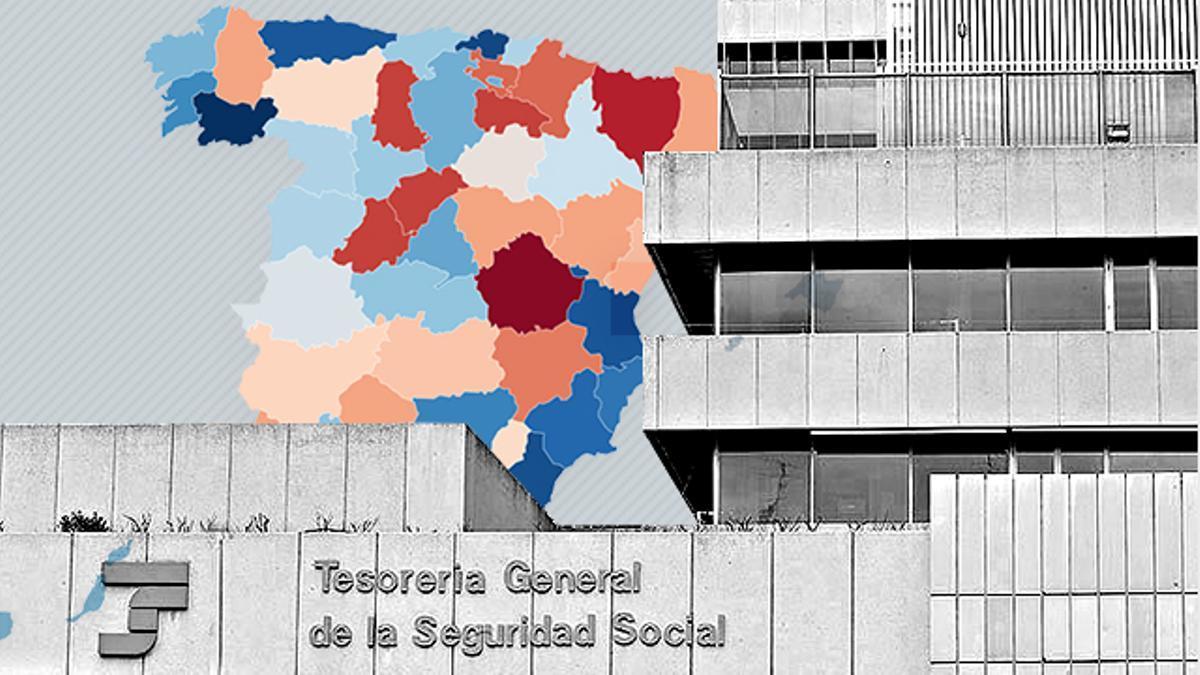 Una gran partes de las oficinas de la Seguridad Social en riesgo de cierre y aquellas que ya están cerrando están situadas en la llamada España Vacía.