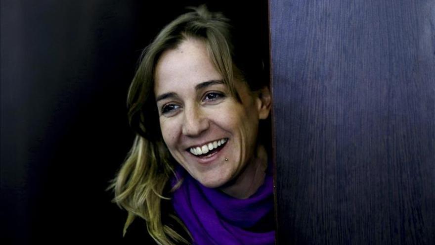 """Tania Sánchez augura un """"gran día"""" y dice que se respira """"alegría"""""""
