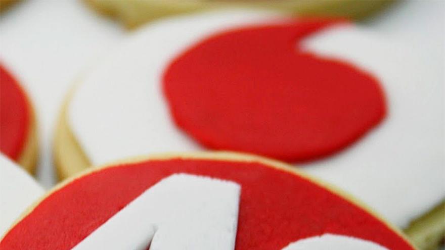 Pastas que la bloguera Maribel García cocinó para celebrar la llegada del 4G de Vodafone (Foto: creisicups en Blogspot)
