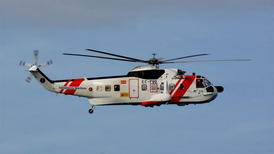 Helimer 210 (Foto Salvamento Marítimo)