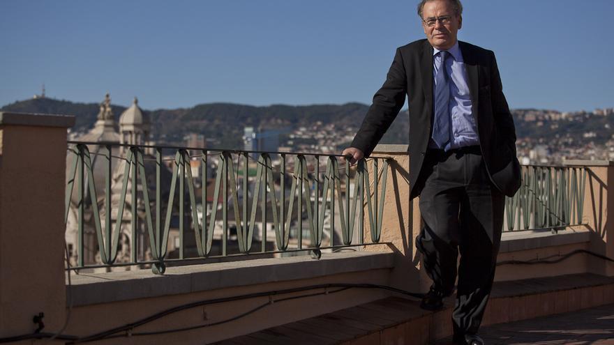 Jorge Fabra, miembro fundador de Economistas Frente a la Crisis. /ENRIC CATALÀ