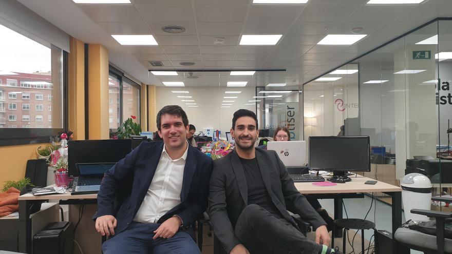 Manuel Gonzalvez, CEO de Sesortea, a la izquierda