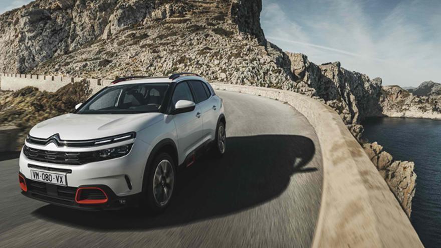 La versión híbrida enchufable del Citroën C5 Aircross llegará a Europa en 2019.