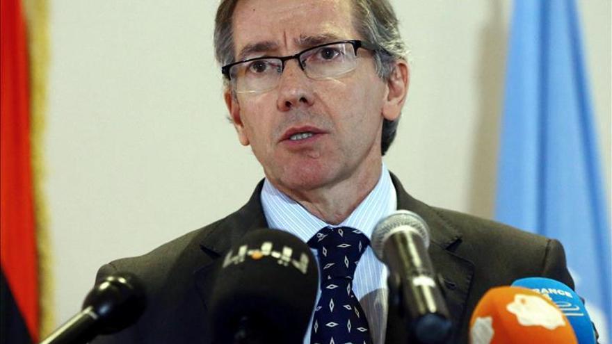 El enviado de la ONU a Libia dice que los atentados no detendrán su misión
