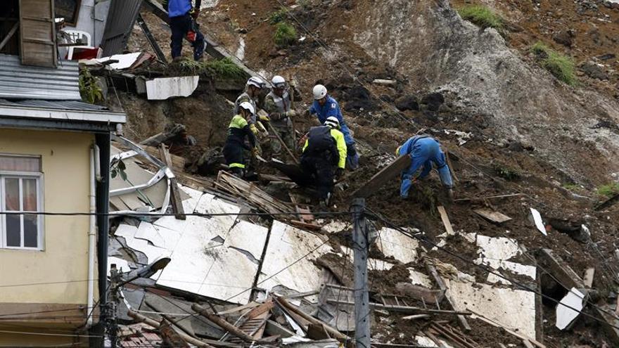 Sube a 17 la cifra de muertos por las lluvias en Manizales
