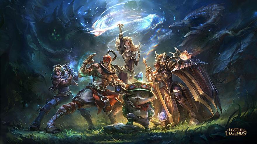 Imagen promocional de League of Legends. (twitter).
