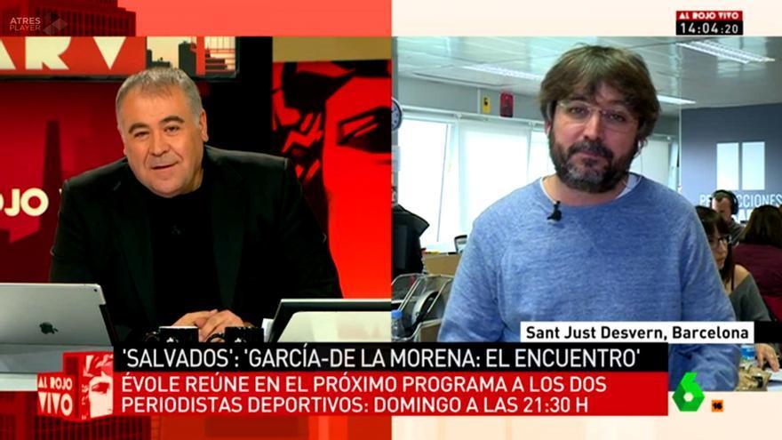 Al rojo vivo conecta en directo con Jordi Évole