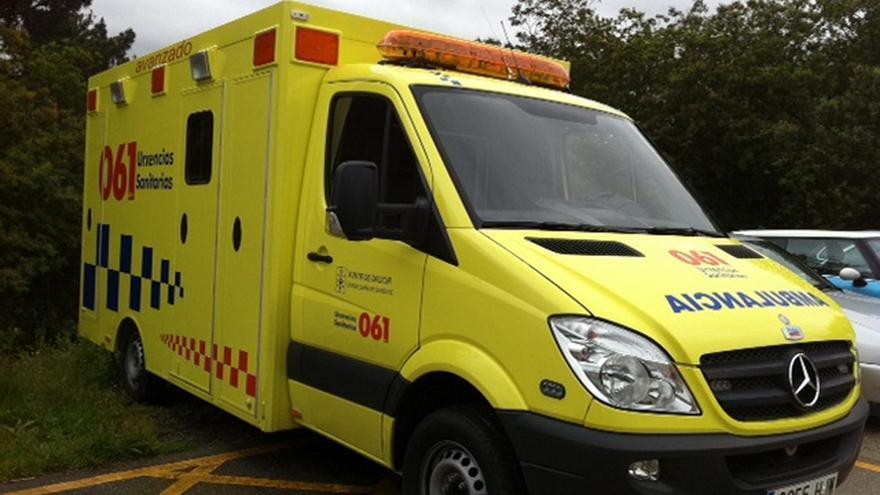 Ambulancia del 061 en Galicia