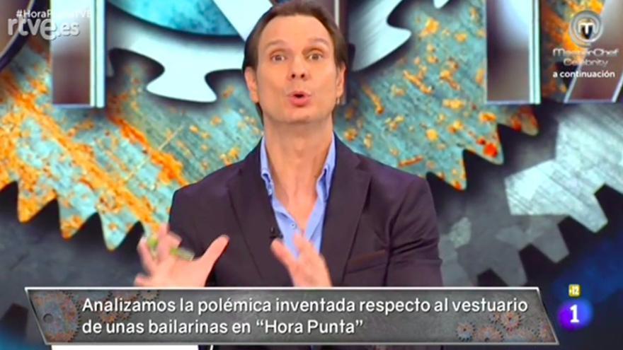 Cárdenas durante el programa Hora Punta
