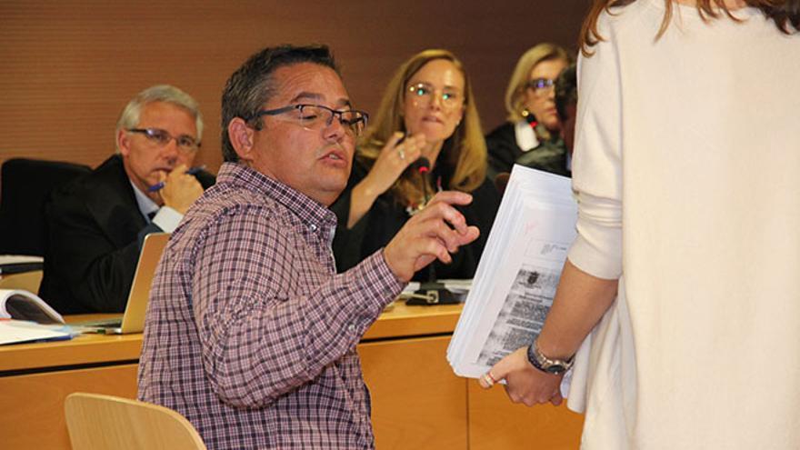 Antonio Machín, en el juicio del caso Unión.