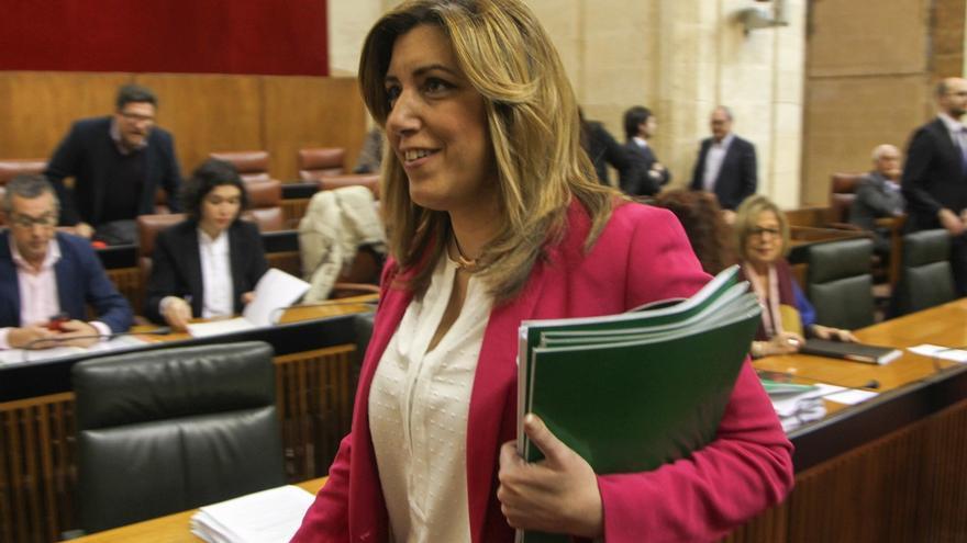 """Susana Díaz cree que la modificación de la LOUA contará con apoyo mayoritario y muchos andaluces """"respirarán aliviados"""""""