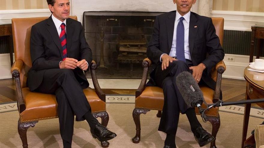 """Obama y Peña Nieto acuerdan consolidar la cooperación para que la alianza """"perdure"""""""