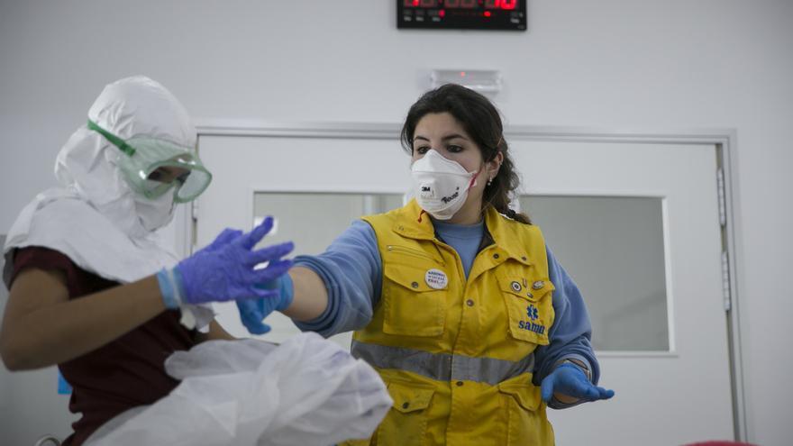 Andalucía alcanza los 8.301 contagios y suma otras 44 muertes en 24 horas hasta las 470