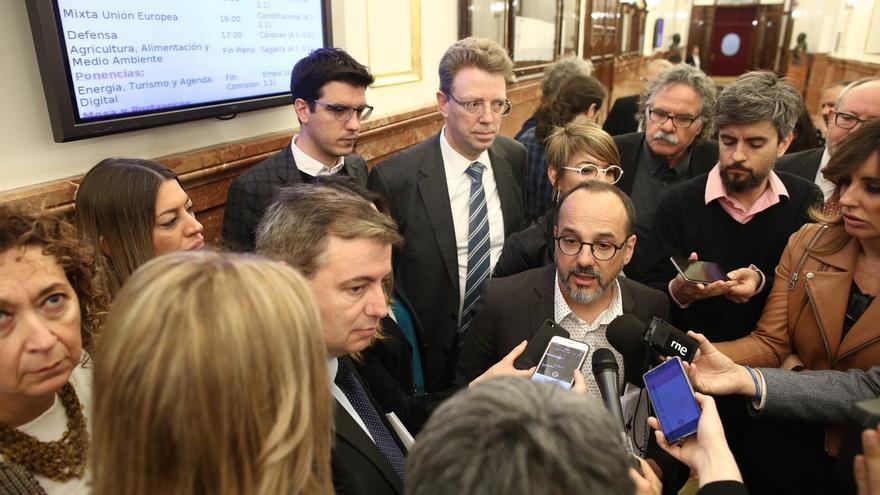"""Campuzano (PDeCAT) pide """"centrarse"""" en el compromiso del referéndum"""