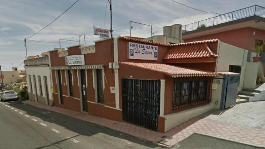 Bar La Sirena, donde ocurrieron los hechos. (GOOGLE MAPS)