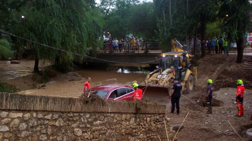 La lluvia daña en Riofrío (Granada) la producción de caviar de piscifactoría
