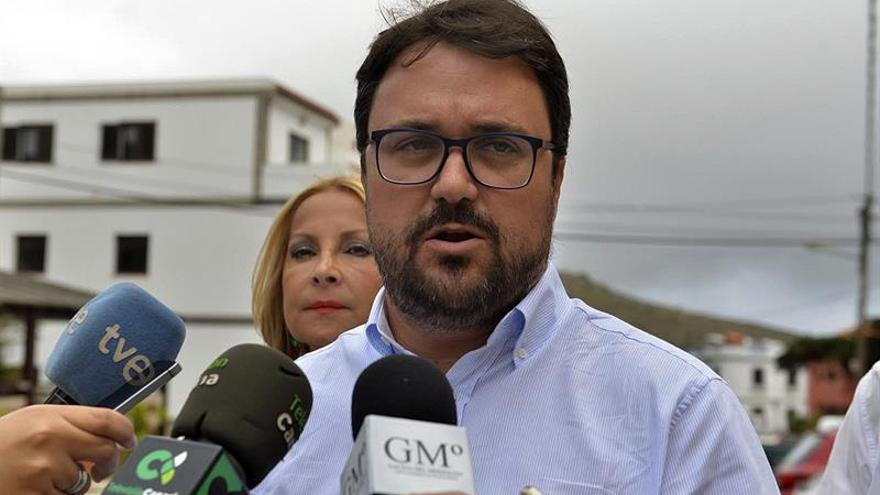 El presidente del PP canario, Asier Antona.