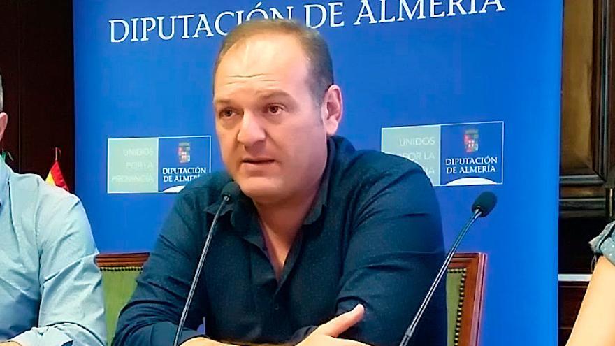 Antonio Fernández, alcalde de Cuevas de Almanzora