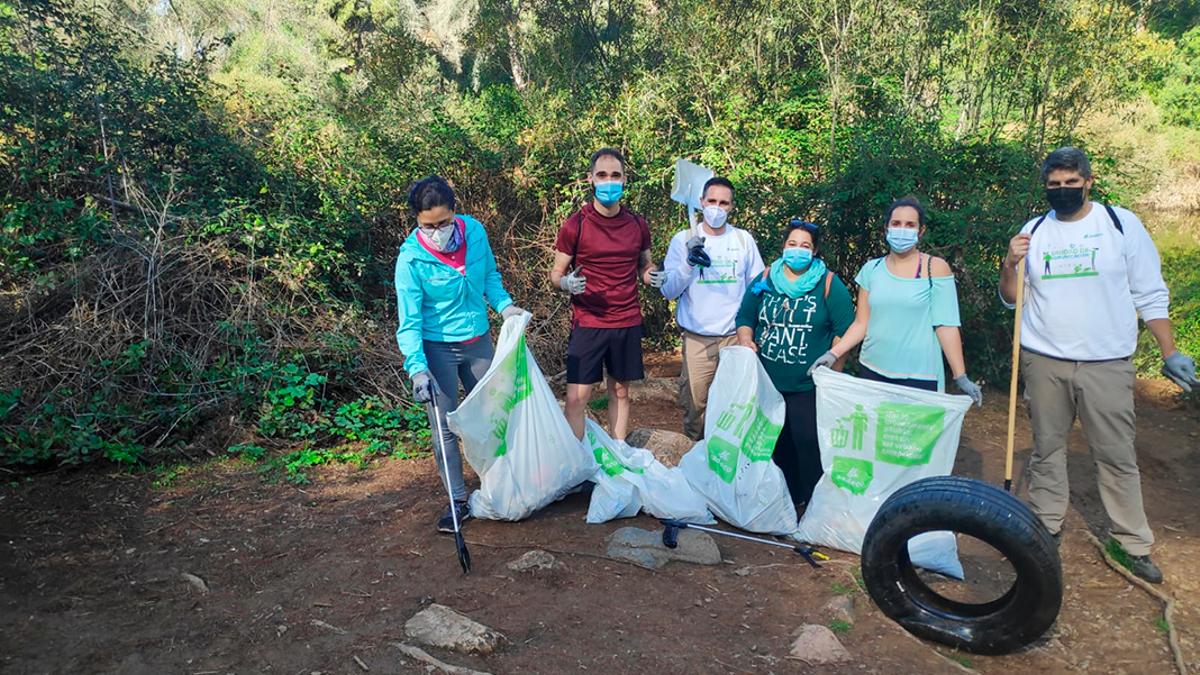 Patrulla ambiental de Sadeco en los Baños de Popea.